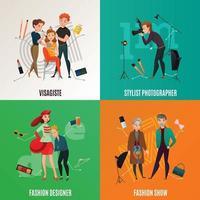fashion show concept vector