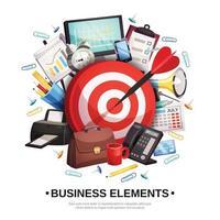 business office illustration vector