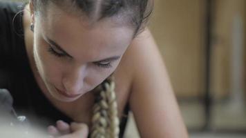 Close-up of a Tattoo Artist Working on A Tattoo video