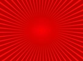 Abstract Red Sun Rays Background vector