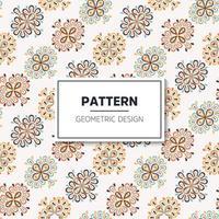 Seamless pattern. Vintage decorative elements vector