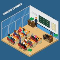 master class isometric composition vector