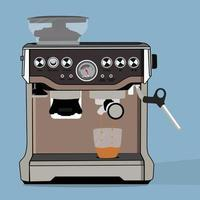a vector of coffee machine perfect for coffee shop