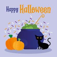 Halloween celebration banner vector