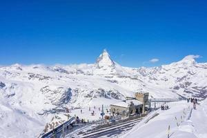el observatorio de la cumbre de gornergrat, suiza, 2018