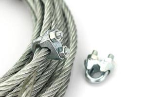 Wire rope with a lock
