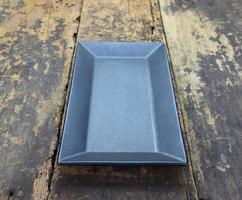 Black rectangular plate