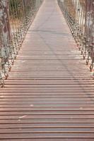 Walkway on the bridge photo