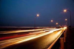 calles de noche foto