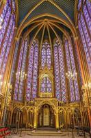 The Sainte Chapelle in Paris, France