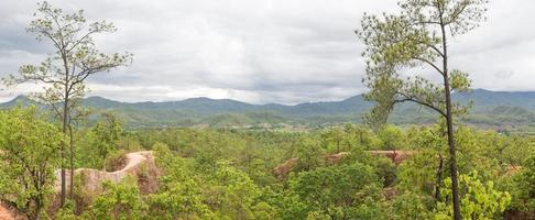 Panorama of the Grand Canyon of Thailand photo