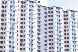 Condominium building in Thailand