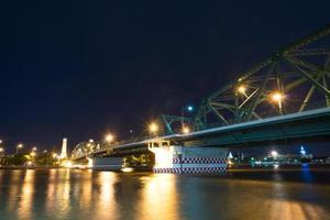 puente sobre el río en bangkok