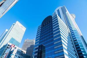 edificios de gran altura en tokio, japón