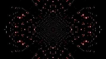 White particles and streaks 3d illustration kaleidoscope design for background or wallpaper