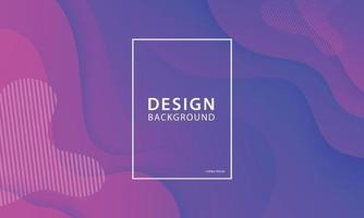Fluid shape banner design background. Liquid geometric gradient template.