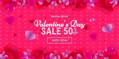 Valentine's day special offer sale
