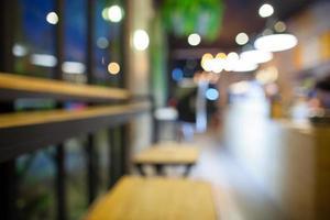 cafetería borrosa foto