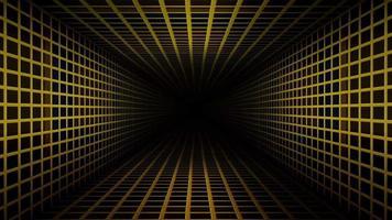 corredor loopable paredes metálicas video
