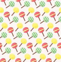 Vector seamless pattern from ice-creams