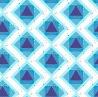 Grunge colorful geometric seamless pattern vector