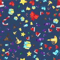 feliz navidad de patrones sin fisuras