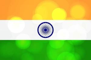 feliz día de la independencia india saludo plantilla