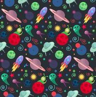 patrón de cosmos ovni