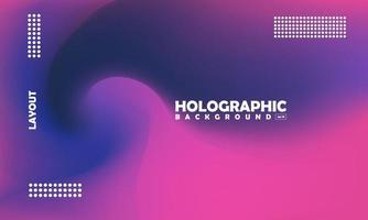 Blurred purple beautiful holographic background vector illustration