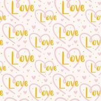 St Valentine's holiday seamless pattern