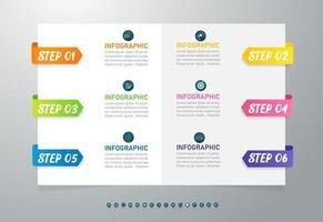 Design Business template infographic elements vector