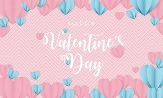 Lovely background for love and valentine's day vector