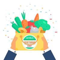 World Vegetarian Day vector