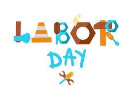 Labor Day. 1 May vector