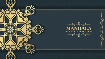 Luxury ornamental mandala background with arabic islamic east pattern style premium vector