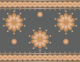 tela patrón étnico abstracto, estilo de ilustración vectorial vector