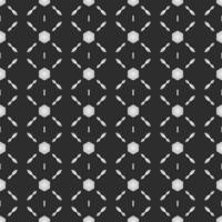 Geometric fabric abstract ethnic pattern, vector illustration style seamless pattern.