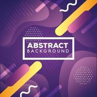 fondo geométrico y abstracto púrpura vector