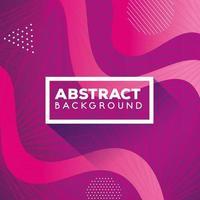 fondo rosa geométrico y abstracto con ondas vector