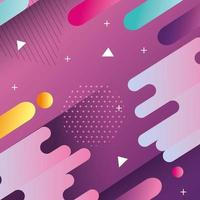 purple geometric and abstract background vector