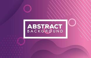 purple geometric and abstract background with waves vector