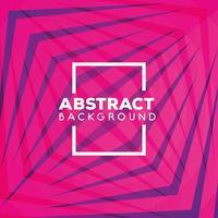 fondo rosa geométrico y abstracto vector