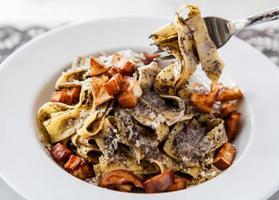 Italian pasta cuisine