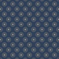 Fabric abstract floral pattern, vector illustration flat style
