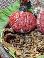 Herbs and compress balls