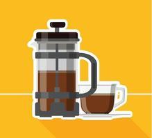 Coffee maker design vector illustration