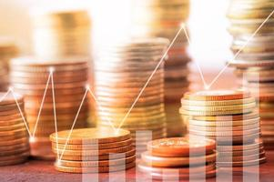 Capital and business finance concept photo