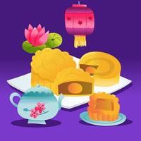 Super Cute Mid Autumn Festival Mooncake Tea Party