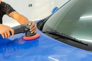 Car polish machine