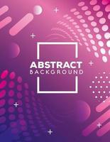 Fondo abstracto con vibrante color púrpura y rosa. vector